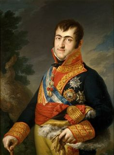 """Ferdinand VII was twice King of Spain: in 1808 and again from 1813 to his death, and until 1814 in opposition to Joseph Bonaparte. He was known to his supporters as """"the Desired"""" (el Deseado) and to his detractors as the """"Felon King"""" (el Rey Felón). Alexander Von Humboldt, Franz Josef I, Fernando Vii, Luis Xiv, National Art Museum, Maria Theresa, Spanish Royal Family, Spanish Colonial, Reign Bash"""