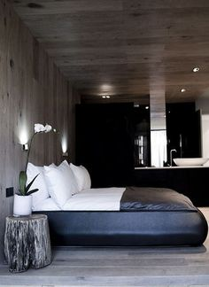 Masculine and Contemporary Masculine Bedroom - Interiors By Color