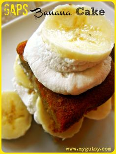 Fun, comforting, simple flavors swirl in your mouth. A hint of cinnamon tingles your tongue, while the smell of fresh GAPS banana cake dances around your nose.