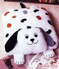 И еще много идей для изготовления подушек для детей и не только я узнала, заглянув в этот альбом:  http://picasaweb.google.pl/   Также здесь есть выкройки к ним