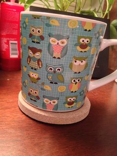 Owl coffee mug from my BFF/ valentines 2014