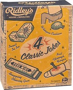 [Paper Source] Ridley's Box of 'Classic' Jokes - $10.95