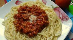 Spaghetti bolognese (ze świeżych pomidorów)