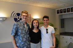 The Aly G Show had guests: Ethan Garrett and Judah Michael