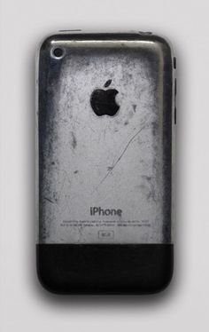 iPhone after years of having keys in the same pocket. You could buff it out to be shiny again.