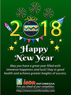 Wishing a happy, prosperous & healthy New Year to all!