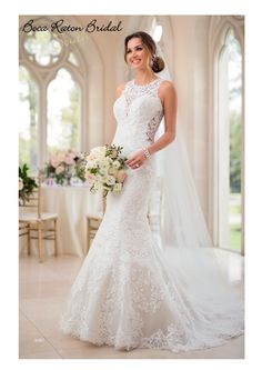 Stella York 6487 Fall 2017 collection available for one of our 2 trunk shows and coming as stock in June!