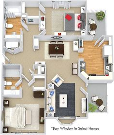 Bexley at Davidson floorplan 1