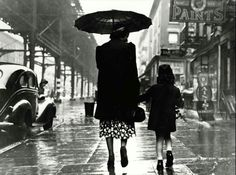 This is one of my favorite photographs of all time. It is a simple, elegant, graceful and loving testament to the year in which it was taken (1938), yet has an enchanting sense of timelessness that takes my breath away. And of course, it is quintessential Manhattan. A mother and daughter taking a walk on Third Avenue on a rainy afternoon. I've used many words to describe it, but its beauty for me is in what I feel when I look at it. Which is precisely why I'm sharing it with you all.   I'm…