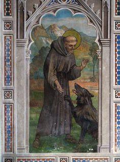 Contos e lendas da Era Medieval: Como São Francisco domesticou o ferocíssimo lobo de Gúbio