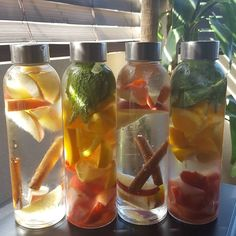 Yummmmmmm Apples+Cinnamon Sticks Strawberries+Oranges+Mint #detoxwater #detox #healthy #fruitwater #infusedwater #refreshing #cleanse #yummy #healthyfood #healthychoices #healthylifestyle #eatright #refresh #childofGod #h2o #water #yum #antioxidants #clean #stayhealthy #behealthy #stayhydrated