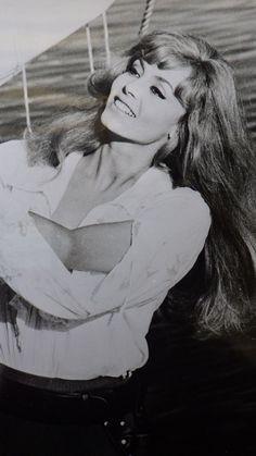 "Orig. Pressefoto: Michele Mercier als ""Angelique""auf hoher See. Foto: Gloria | eBay"