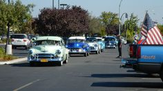 Taxi's Classic Car Flash Mob - Labor Day Weekend 2012 with the VFW