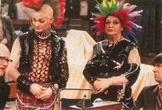 Are You Being Served? ~ Mrs. Slocombe's new hairdo & Mr. Humphrey