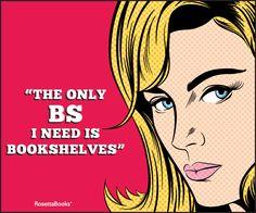 BS = Bookshelves