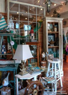 How amazing it would be to be able to work here!! #eclectic #style #ThePassionateHome #langley #store