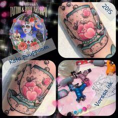 https://www.facebook.com/VorssaInk/, http://tattoosbykata.blogspot.com, #tattoo #tatuointi #katapuupponen#vorssaink #forssa #finland #traditionaltattoo #suomi #oldschool #pinup #teacup