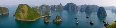 Halong Bay-Vietnam ... I better win the lotto very very soon so I can get going on my bucket list!