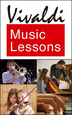 VIVALDI MUSIC LESSONS offers private instruction, in English, in The Hague, Rotterdam and surroundings for children and adults.
