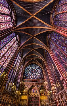 Sainte Chapelle-loved seeing this last month.