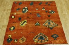 THICK PILE MODERN 6X8 GABBEH PERSIAN ORIENTAL AREA RUG WOOL CARPET NEW #TraditionalPersianOriental