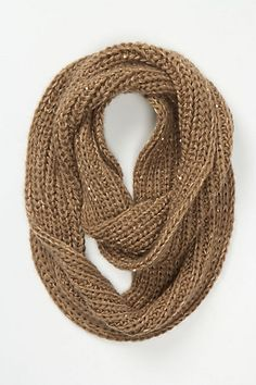 sparkle scarf / anthropologie