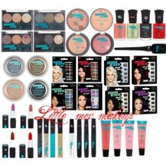 Little Mix makeup collection Little Mix Merchandise, Little Mix Outfits, All Family, 1d And 5sos, Makeup Tips, Makeup Products, All Things Beauty, Makeup Collection, Sephora