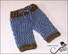 Mamma That Makes: Lil Pants - use these pants but add suspenders for a really nice fireman's set