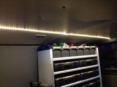 Avantech LED Strip Lights in Natural White in works van