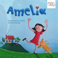 Cuando la mamá de Amelia decide ir a trabajar lejos, le deja un libro mágico lleno de historias. Autor: Ángela Sánchez Vallina Editorial: Pintar Pintar #cuentos #libros #leer #niños