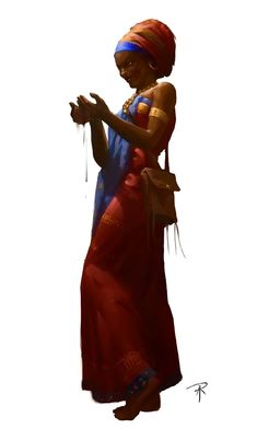 Ramanga- African myth: a living vampire that drank the blood and ate the nail clippings of Noble men. African Mythology, Egyptian Mythology, Fantasy Inspiration, Character Inspiration, Character Design, Black Characters, Fantasy Characters, Songhai Empire, Dark Spirit