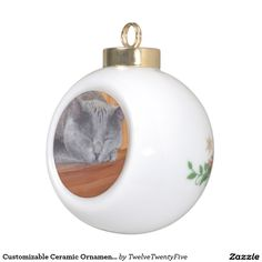 Customizable Ceramic Ornaments