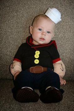 Disfraces de Halloween para bebes DIY