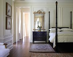 Spacious Traditional Master Bedroom-- Gail Plechaty