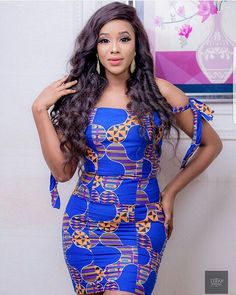 These classy Ankara styles will make you locate your tailor; if you want to turn heads at the next event you attend, then you need these Ankara styles to make a difference Short Ankara Dresses, Ankara Gown Styles, Ankara Gowns, Short Gowns, Dress Styles, African Attire, African Wear, African Dress, African Style