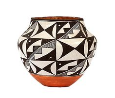 Holiday gift ideas for the traveler: Acoma Polychrome Olla (Jar)