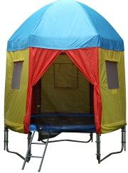 Do you have a 12 foot tr&oline and need a tr&oline tent. We have this great circus design tr&oline tent and is suited to 12 FT tr&oline with eight ...  sc 1 st  Pinterest & 10ft Princess Trampoline Tent | trampolene tent | Pinterest ...