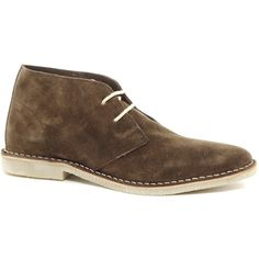 ASOS Desert Boots in Suede ($68) ❤ liked on Polyvore