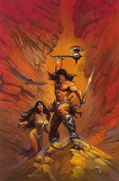 Ken Kelly - Conan by myriac, via Flickr | Click through for a larger image #conan