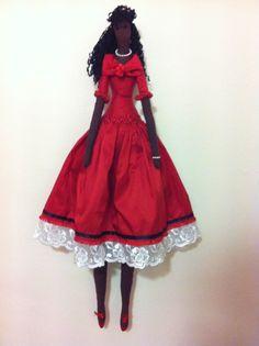 http://www.pinterest.com/cristalloperle/tilda-love/  Tilda doll  Lady In Red