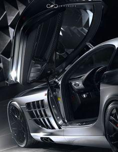 Mclaren Mercedes SLR 722 - Detail on Behance