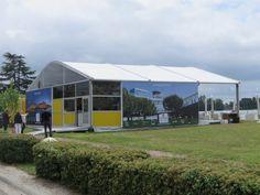 Für Sportevents ist unsere Anova Vista Zelthalle sehr beliebt, da sie ein innovatives Design und vielfältige Nutzungsmöglichkeiten vereint.