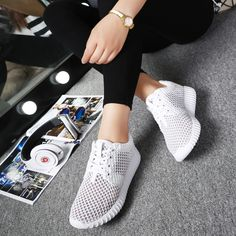 Buy Somix New Women Sport Shoes 2017 Summer Style Mesh(Air mesh) Running Shoes for Women Comfortable Breathable White Sneakers Women . Summer Sneakers, Running Sneakers, Running Shoes For Men, Running Women, White Sneakers, Summer Shoes, Shoes 2017, Women's Shoes, Shoes Sneakers