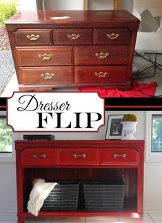 20-Creative-Furniture-Hacks-Rehab-an-old-dresser-This-would-make-for-a-nice-TV-stand.-