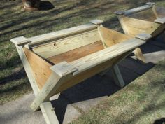 """Wood raised planter box. Handmade by Backwoods Woodworks. Measures 48"""" long, 34"""" high and 36"""" wide. backwoodswoodworks.webs.com"""