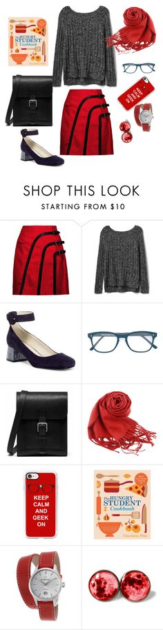 """Untitled #440"" by maritabirken ❤ liked on Polyvore featuring J.W. Anderson, Gap, Nine West, Cutler and Gross, Mulberry, Casetify and Eterna"