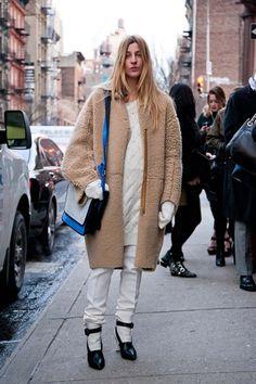New York Fashion Week A/W 2013 street style
