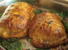 Chicken Wellington is the main for this week's menu.