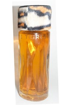 Faberge Tigress for Women Original Version Cologne 1/2oz Tiger Velvet Top