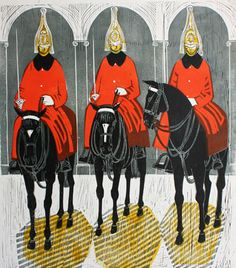 Horse Guards Series by Robert Tavener, c.1967